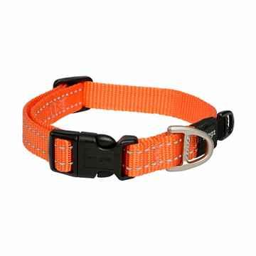Picture of COLLAR ROGZ UTILITY SNAKE Orange - 5/8in x 10-16in(tu)