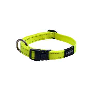 Picture of COLLAR ROGZ UTILITY NITELIFE Dayglo Yellow - 3/8in x 8-13in