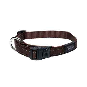 Picture of COLLAR ROGZ UTILITY NITELIFE Chocolate - 3/8in x 8-13in(tu)