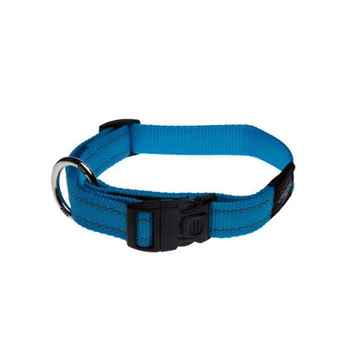 Picture of COLLAR ROGZ UTILITY LUMBERJACK Turquoise - 1in x 17-29in