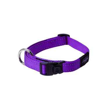 Picture of COLLAR ROGZ UTILITY LUMBERJACK Purple - 1in x 17-29in