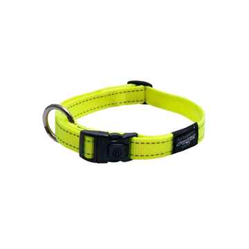 Picture of COLLAR ROGZ UTILITY LUMBERJACK Dayglo Yellow - 1in x 17-29in