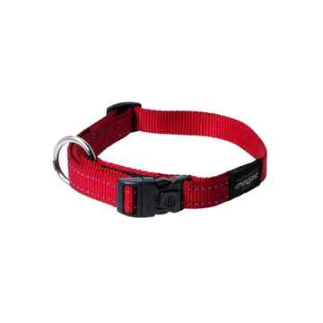 Picture of COLLAR ROGZ UTILITY LUMBERJACK Red - 1in x 17-29in