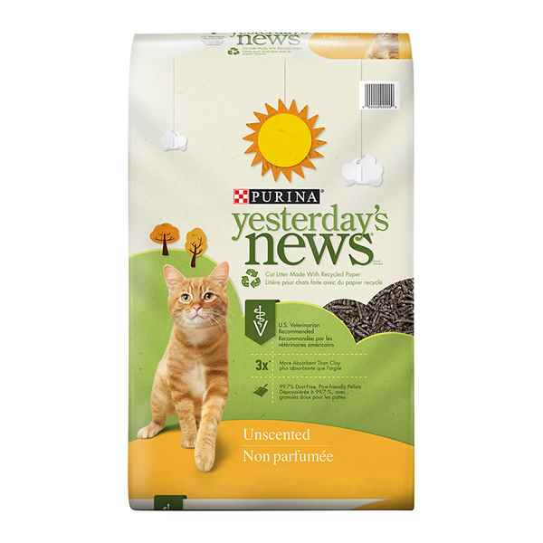 Picture of CAT LITTER YESTERDAYs NEWS - 13.6kg