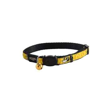 Picture of COLLAR ROGZ BREAK AWAY FANCYCAT - Yellow BumbleBee's(tu)