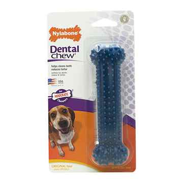 Picture of NYLABONE DENTAL CHEW BONE (NX934) - Regular