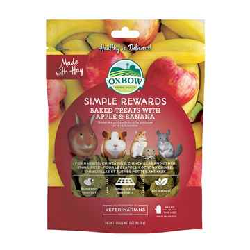 Picture of OXBOW SIMPLE REWARDS APPLE and BANANA - 3oz