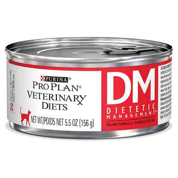 Picture of FELINE PVD DM (DIABETES/DIETETIC) FORMULA - 24 x 156gm cans