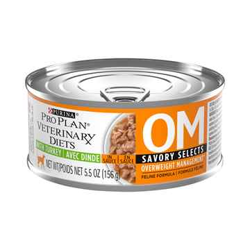Picture of FELINE PVD OM (WEIGHT MANAGE) SAVORY SELECTS - 24 x 156gm cans