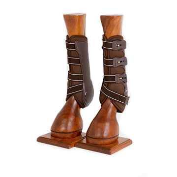 Picture of BACK ON TRACK ROYAL TENDON BOOTS BROWN COB SIZE