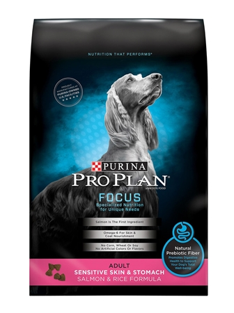 Picture of CANINE PRO PLAN SENSITIVE SKIN/STOMACH SALMON & RICE - 13.6kg