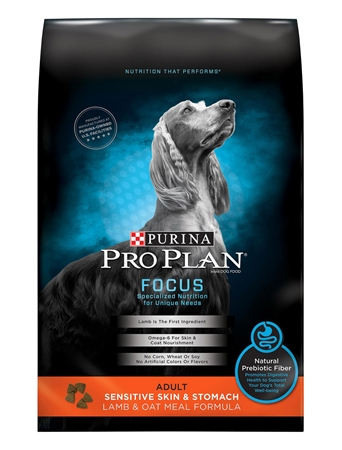 Picture of CANINE PRO PLAN SENSITIVE SKIN/STOMACH LAMB & OATMEAL - 7.26kg