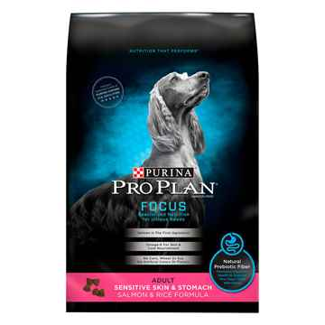 Picture of CANINE PRO PLAN FOCUS SENSITIVE SKIN & STOM SALMON - 7.26kg(tu)