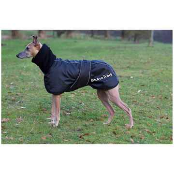 Picture of BACK ON TRACK WHIPPET RUG BLACK LARGE