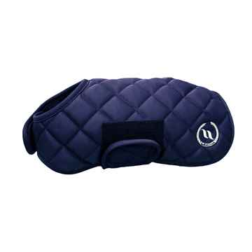 Picture of BACK ON TRACK NIGHTS COLLECTION DOG RUG BLUE 40cm