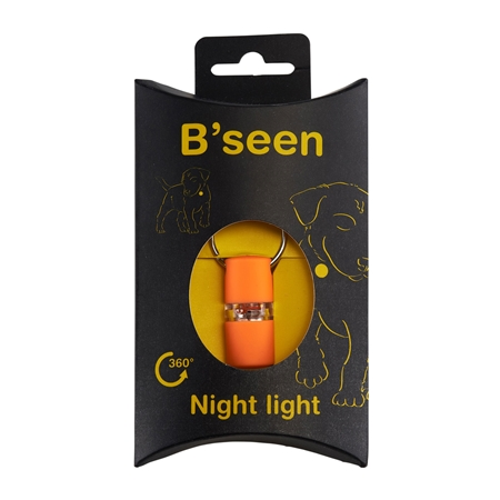 Picture of B SEEN 360 NIGHT LIGHT SAFETY TAG  - Orange