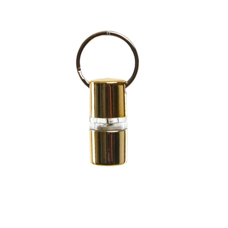 Picture of B SEEN 360 NIGHT LIGHT SAFETY TAG  - Gold Metallic