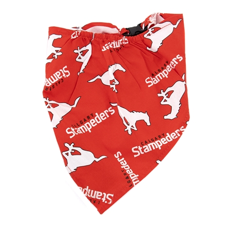 Picture of BANDANA CFL GEAR Calgary Stampeders logo - X Large