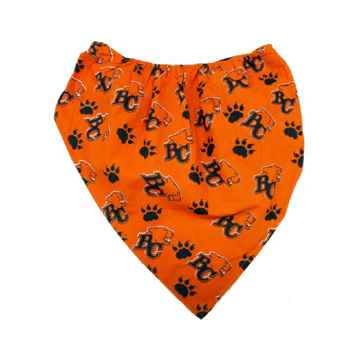 Picture of BANDANA CFL GEAR BC Lions logo - Medium