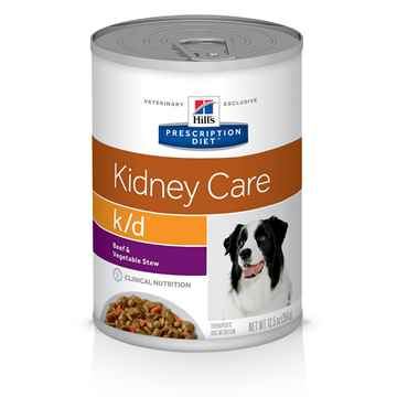 Picture of CANINE HILLS kd RENAL HEALTH BEEF & VEG STEW - 12 x 12.5oz