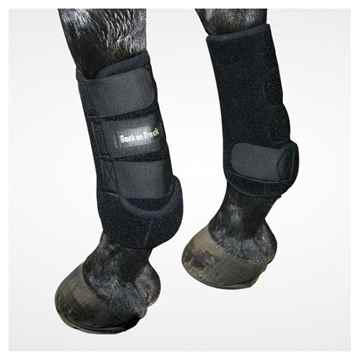 Picture of BACK ON TRACK EXERCISE BOOTS HIND BLK LARGE