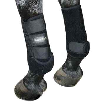 Picture of BACK ON TRACK EXERCISE BOOTS HIND BLACK SMALL