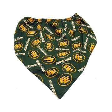 Picture of BANDANA CFL GEAR Edmonton Eskimos logo - X Large