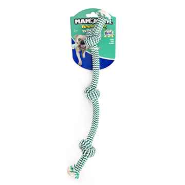 Picture of CHEW ROPE Flossy Chews Extra Fresh 3 knot Tugs Medium - 20in