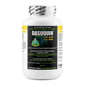 Picture of DASUQUIN CHEW TABS w/MSM for LARGE DOGS - 84s