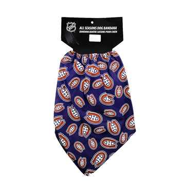 Picture of BANDANA NHL GEAR Montreal Canadians Logo - X Large