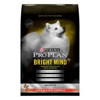 Picture of CANINE PRO PLAN ADULT BRIGHT MIND 7+ CHICKEN & RICE - 16lb