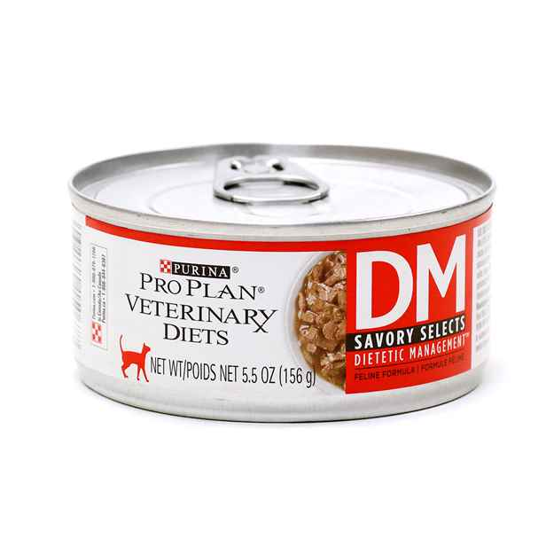 Picture of FELINE PVD DM (DIABETES/DIETETIC) SAVORY SELECTS - 24 x 156gm cans