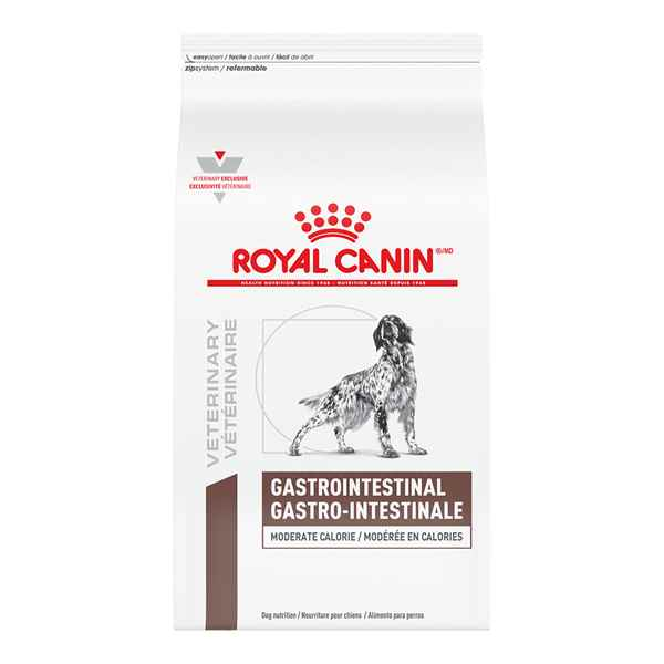 Picture of CANINE RC GASTROINTESTINAL MODERATE CALORIE - 15kg