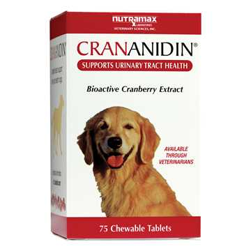 Picture of CRANANIDIN CHEWABLE TABS for DOGS - 75s