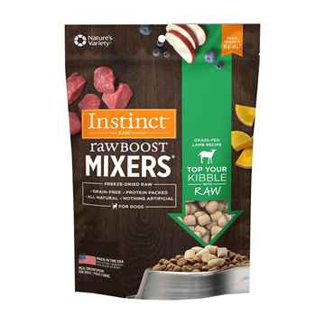 Picture of CANINE NATURES VARIETY Instinct Raw Boost Mixer Lamb Formula - 156g