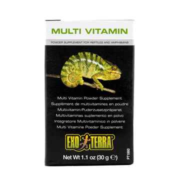 Picture of EXO TERRA MULTI VITAMIN POWDER SUPPLEMENT (PT1860) - 1.1 oz / 30 g