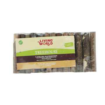 Picture of LIVING WORLD Tree House Real Wood Logs (61405) - Small