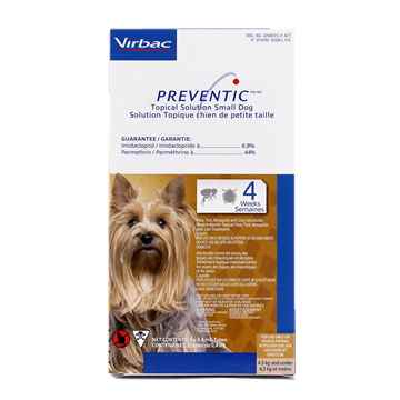 Picture of PREVENTIC TOPICAL SOLUTION for SMALL DOGS - 3s