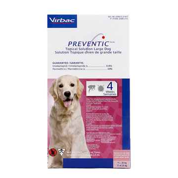 Picture of PREVENTIC TOPICAL SOLUTION for LARGE DOGS - 3s