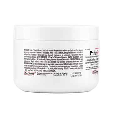 Picture of PROHEX 4 WIPES(4% CHLORHEXIDINE GLUC)for DOGS/CATS - 50s