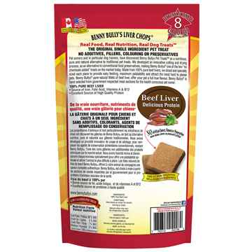 Picture of TREAT LIVER CHOPS Benny Bullys - 3.3lbs