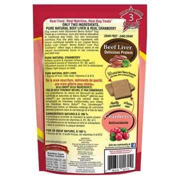 Picture of TREAT BEEF LIVER PLUS CRANBERRY Benny Bullys - 58g