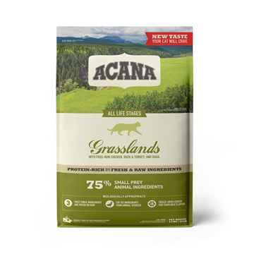 Picture of FELINE ACANA GRASSLANDS Dry Food - 4.5kg