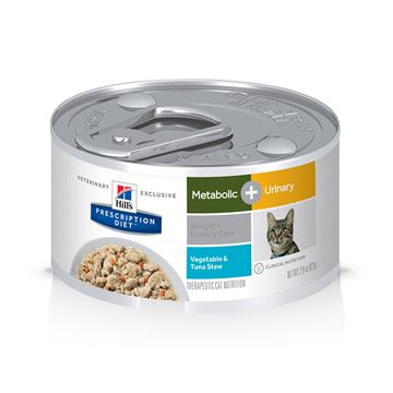 Picture of FELINE HILLS METABOLIC + URINARY TUNA STEW - 24 x 2.9oz(tu)