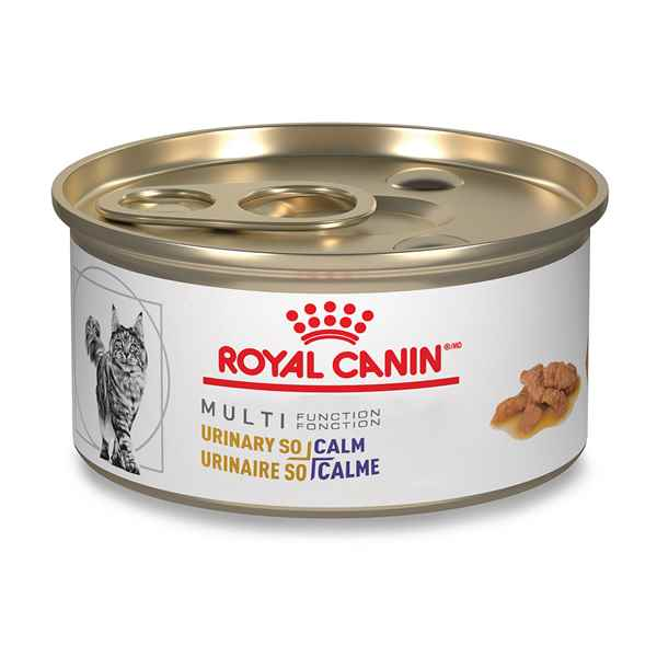 Picture of FELINE RC MULTIFUNCTION URINARY + CALM - 24 x 85gm cans