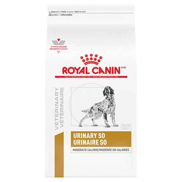 Picture of CANINE RC URINARY SO MODERATE CALORIE - 8kg