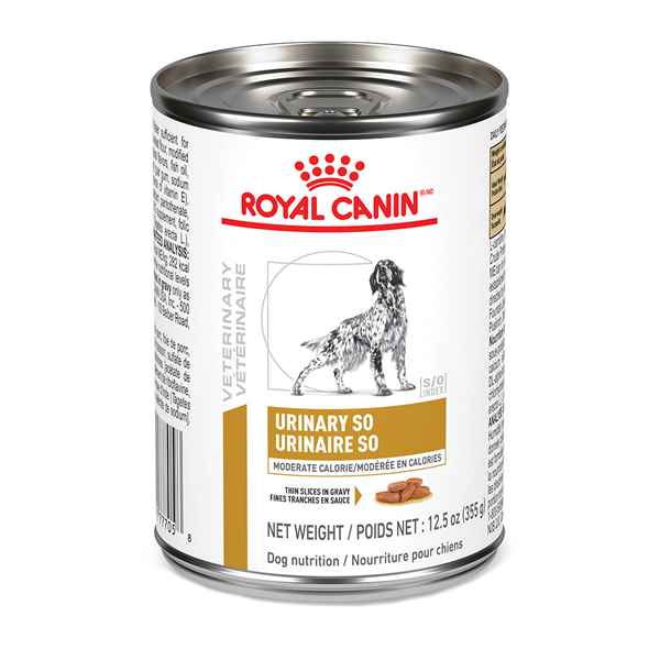 Picture of CANINE RC URINARY SO MODERATE CALORIE - 12 x 355gm cans