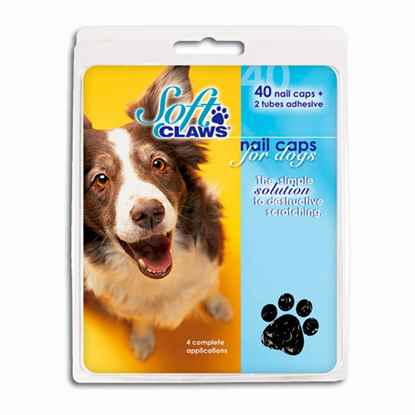 Picture of SOFT CLAWS TAKE HOME KIT CANINE LARGE - Black