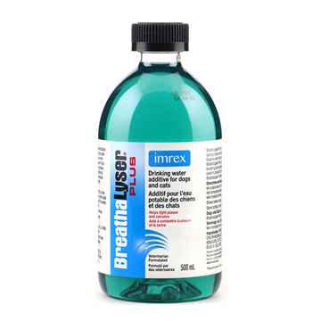 Picture of BREATHALYSER PLUS DRINKING WATER FOR DOGS - 500ml