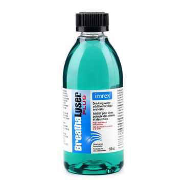 Picture of BREATHALYSER PLUS WATER ADDITIVE DOGS/CATS - 250ml